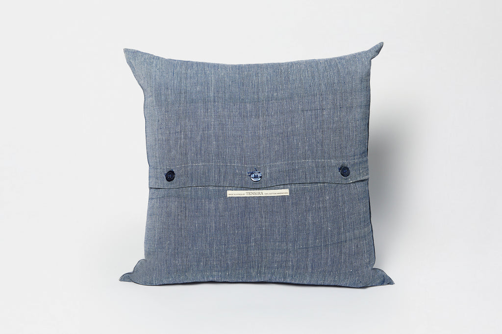 Tensira Pillow Navy/Off White