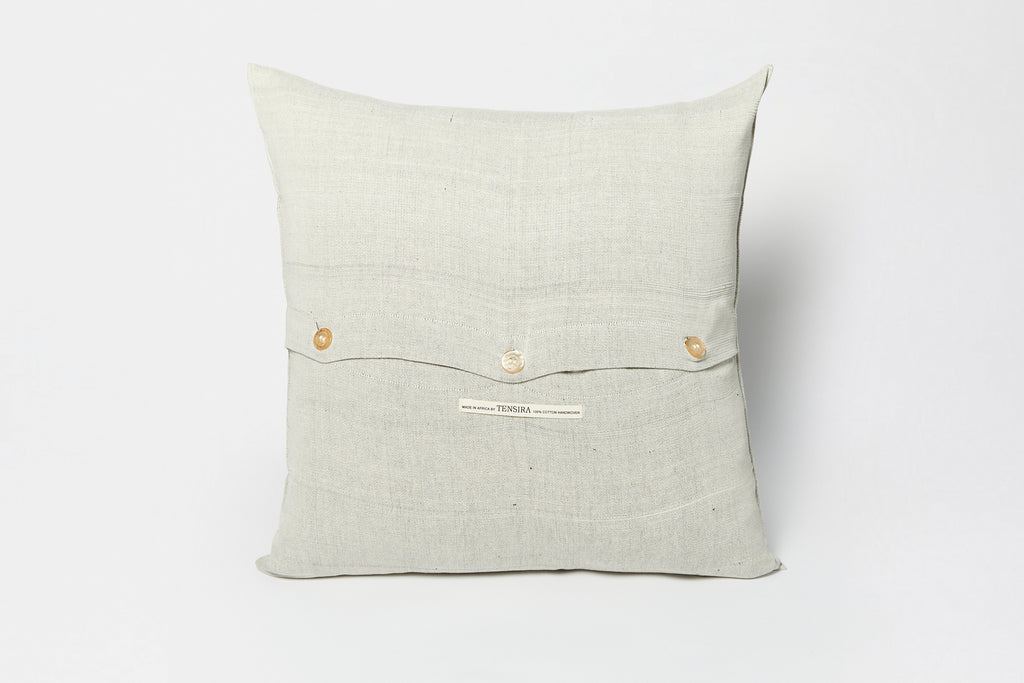 Pale Black 20 x 20 Pillow