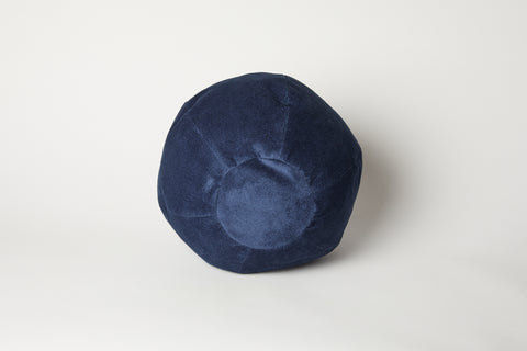 Aegean Navy Globe Cushion