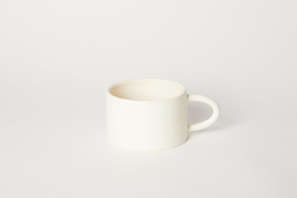 White Breakfast Mug