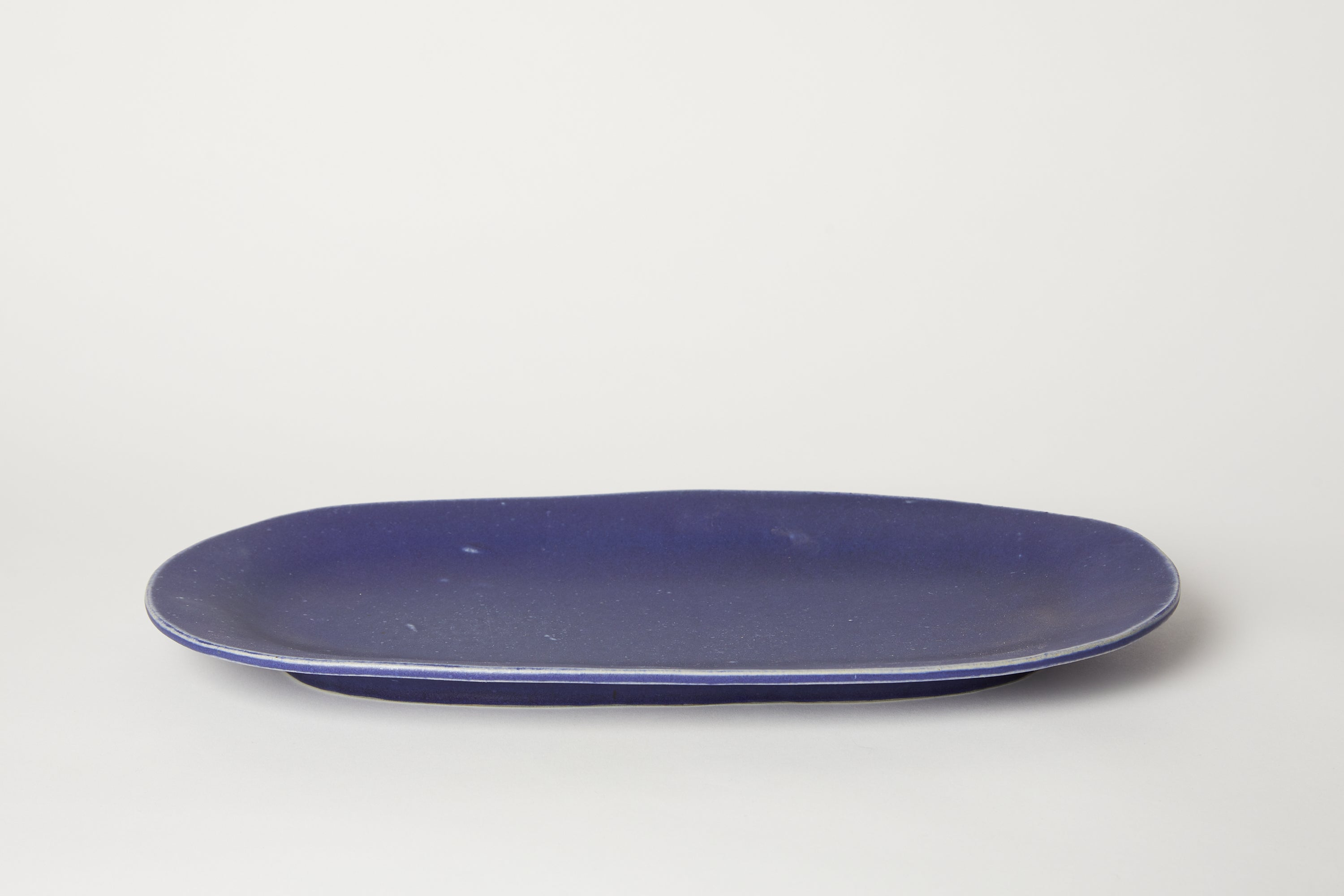 Large Oval Platter Navy 18