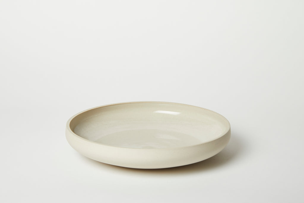 Recycled White Bowl 8.5/9.5""
