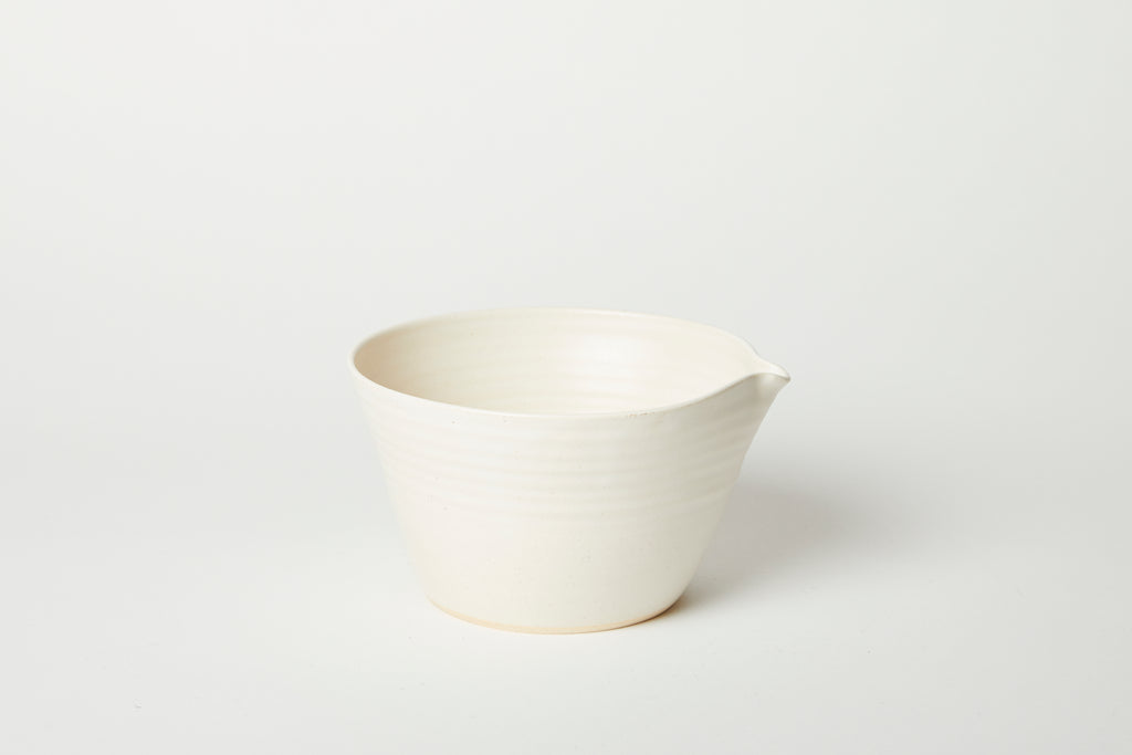 White Kam Stacking Mixing Bowl #1/2