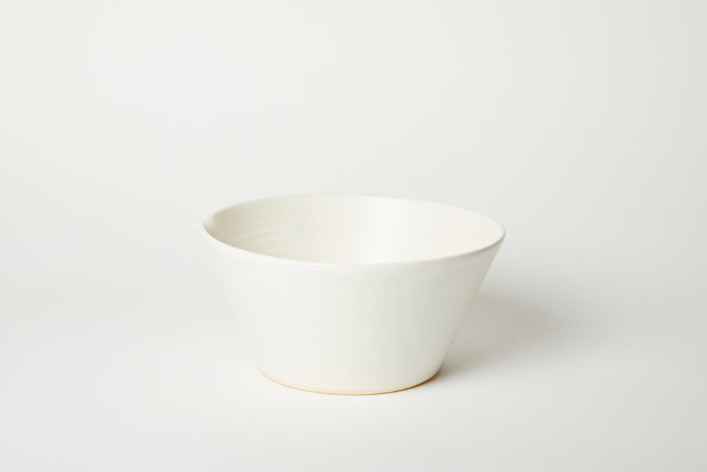 White Kam Stacking Mixing Bowl #2