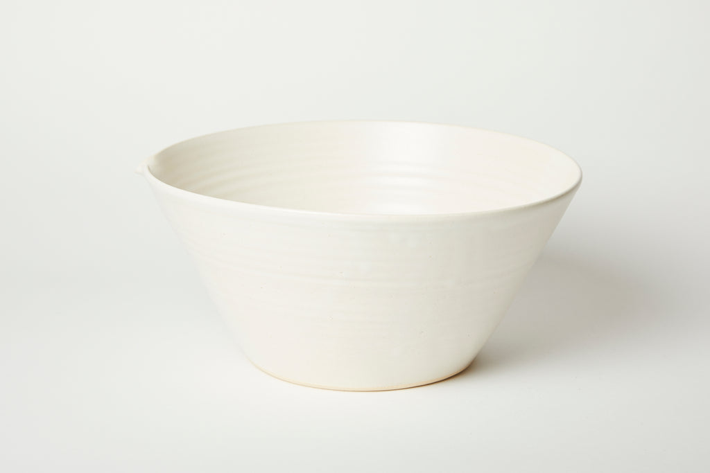 White Kam Stacking Mixing Bowl #3