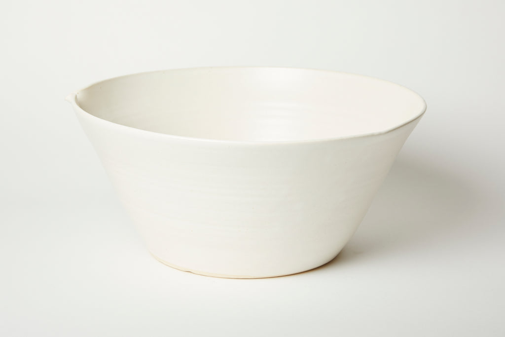White Kam Stacking Mixing Bowl #4