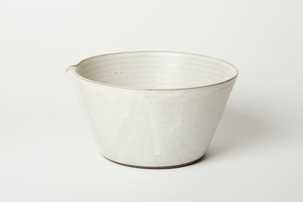 Oatmeal Kam Stacking Mixing Bowl #2