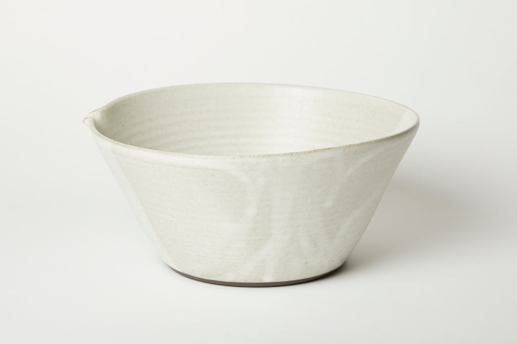 Oatmeal Kam Stacking Mixing Bowl #3
