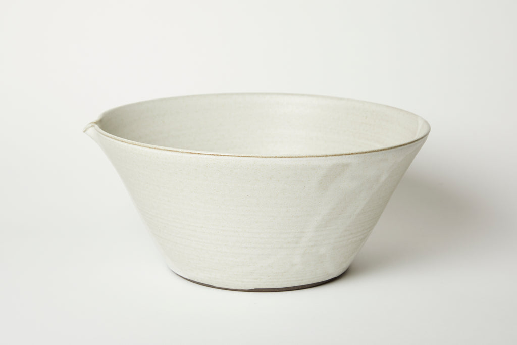 Oatmeal Kam Stacking Mixing Bowl #4