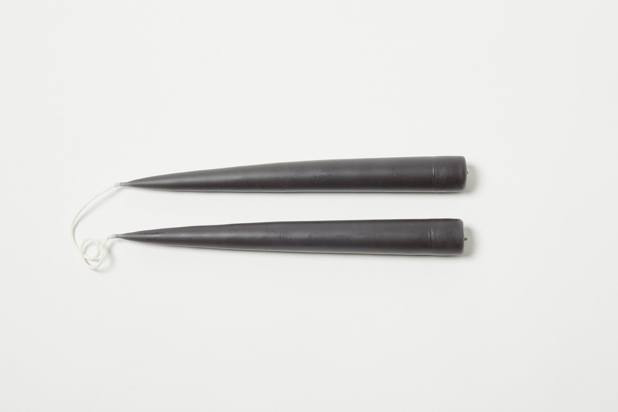 "Black 9"" Taper Candle"