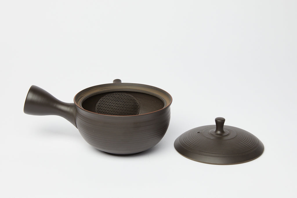 Tokoname Ware Sedan Black Teapot