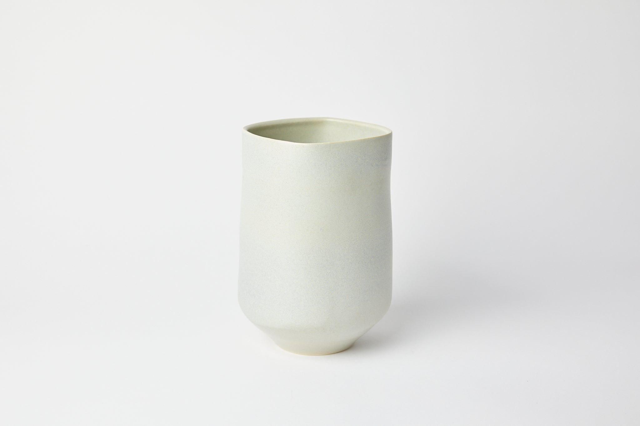 Natalie Weinberger Square Mouth Vase Celadon A