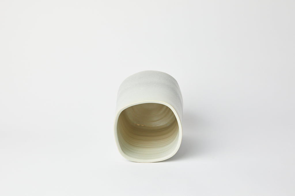 Natalie Weinberger Square Mouth Vase Celadon B