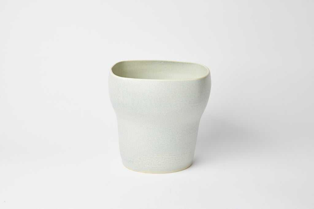 Natalie Weinberger Square Mouth Vase Celadon C