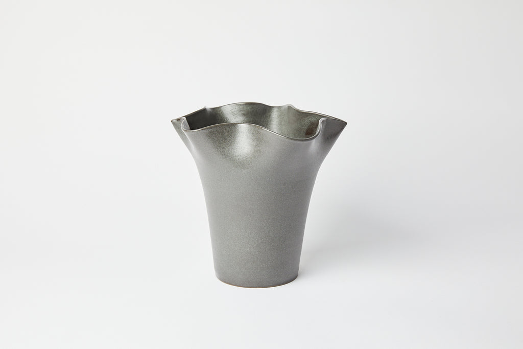 Natalie Weinberger Wavy Vase Medium