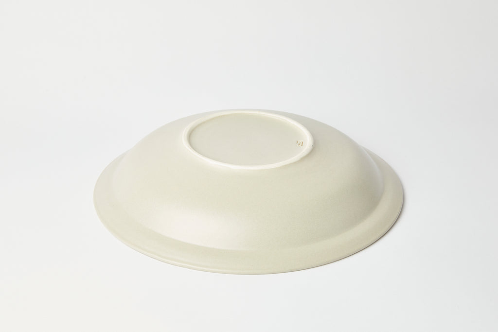 Natalie Weinberger Serving Bowl Satin Cream