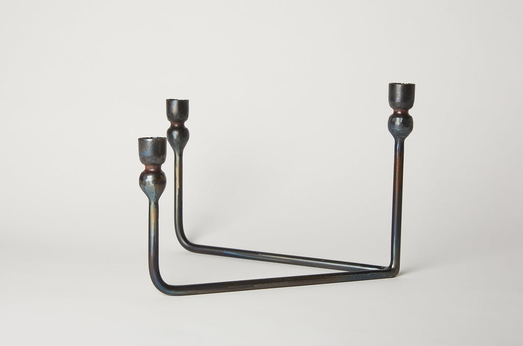 Il Buco Vita Three Tiered Candelabra