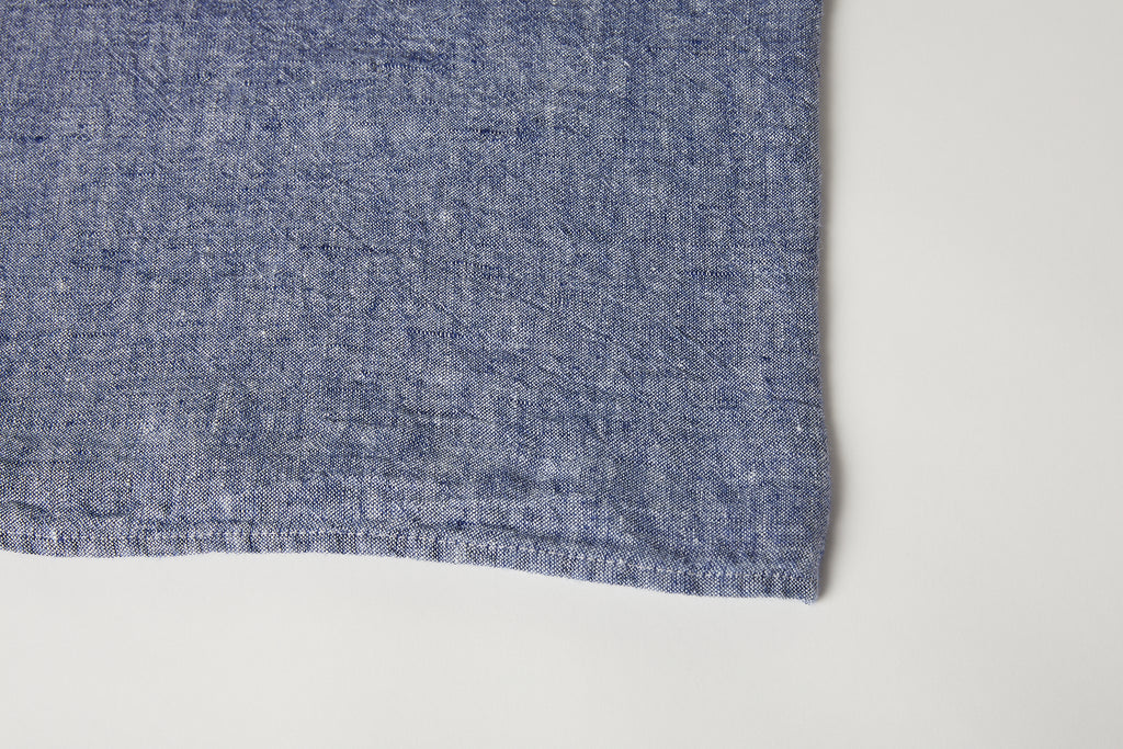 "Chambray Tablecloth 63"" x 118"""