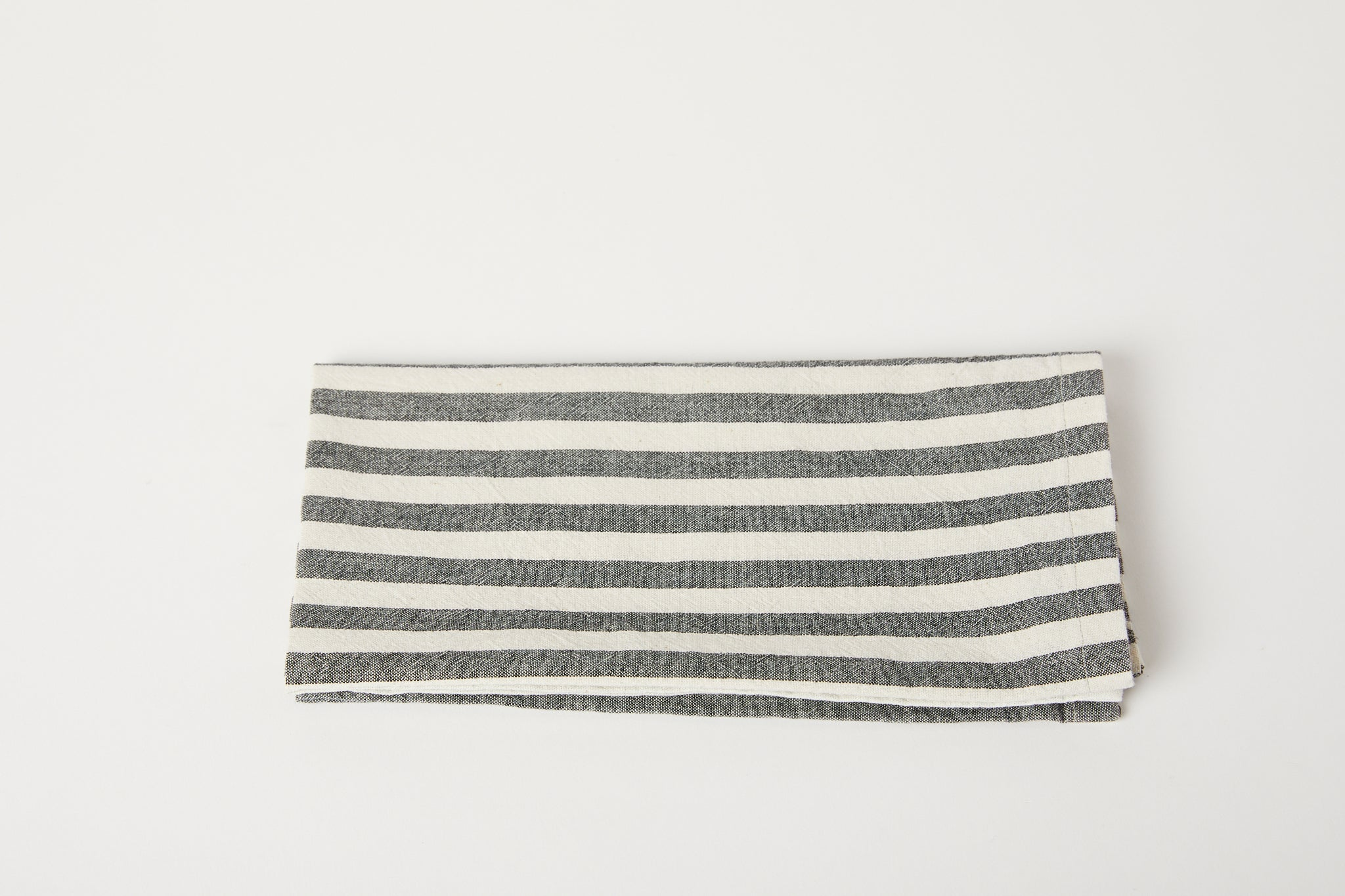 TPE Grey/White Stripe Napkin