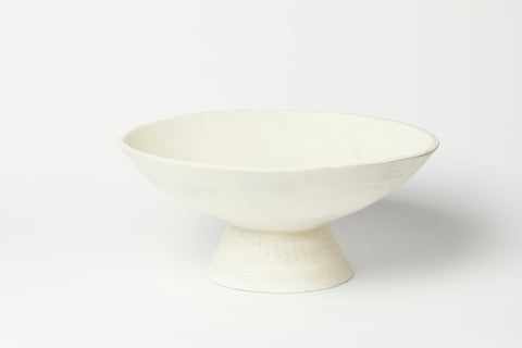 Short Footed Serving Bowl 11""