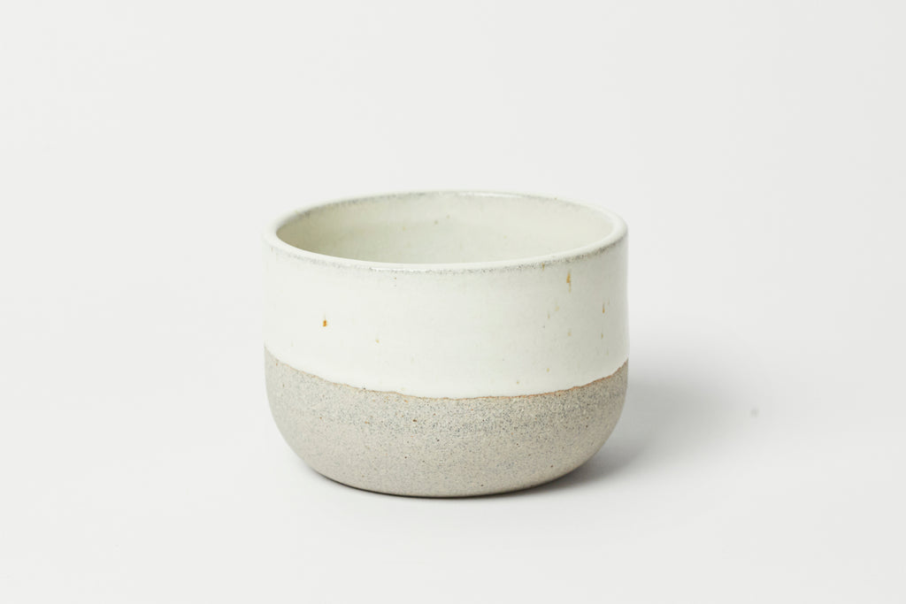 Humble Ceramics Alder Bowl Sandstone/Snow White