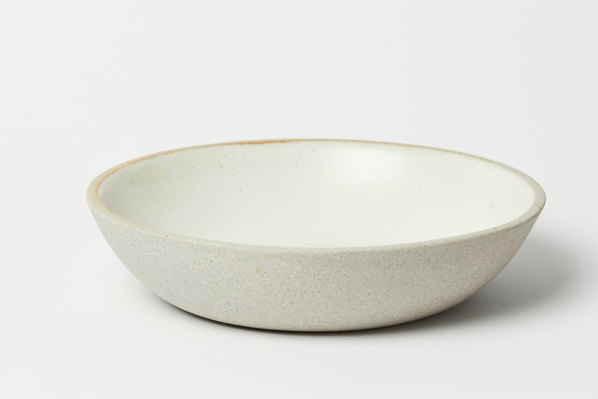 Stillness Bowl Greystone/Snow White