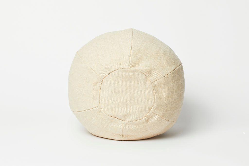 Off White Cotton Globe Pillow