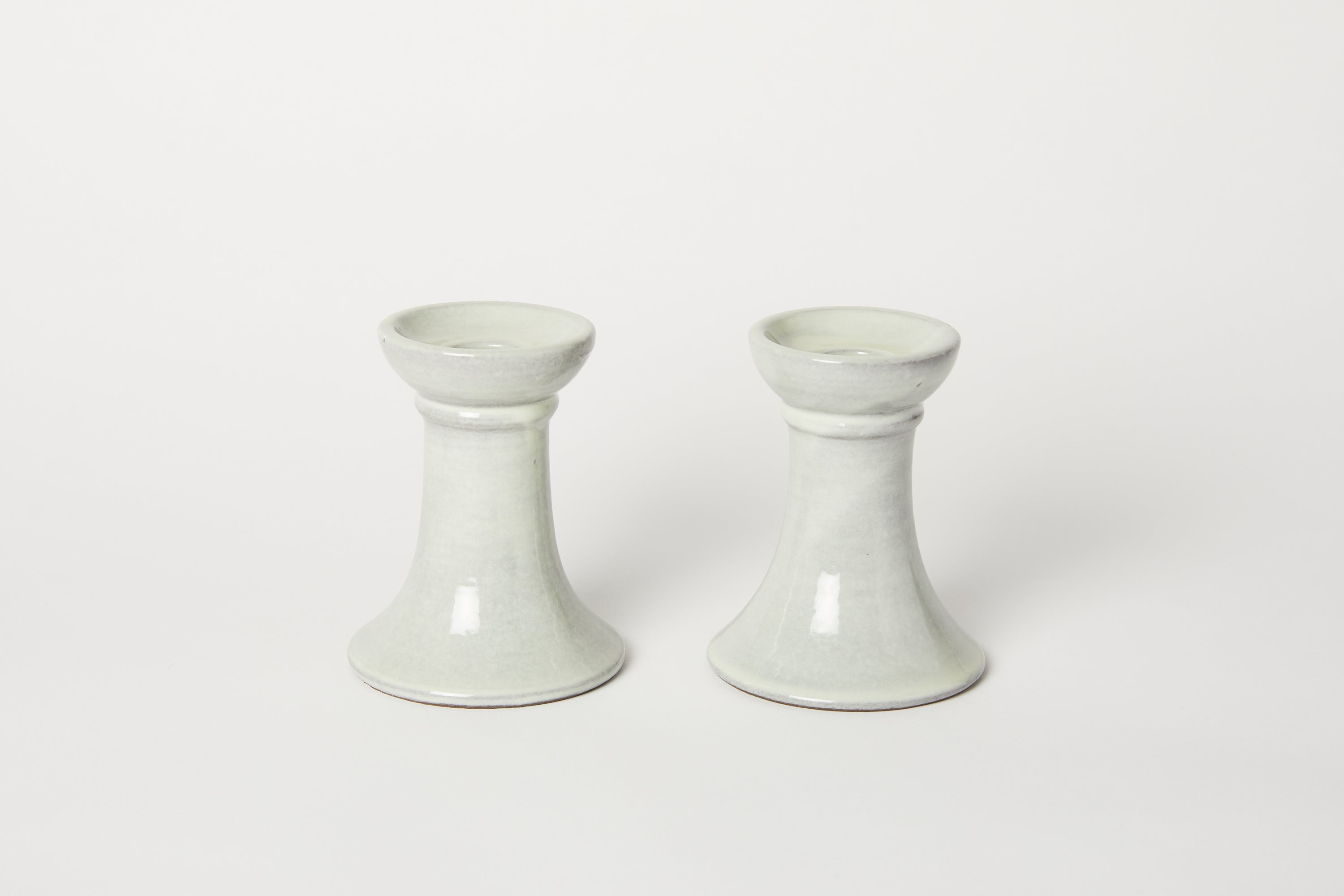 Assisi Dove Grey Candle Holder