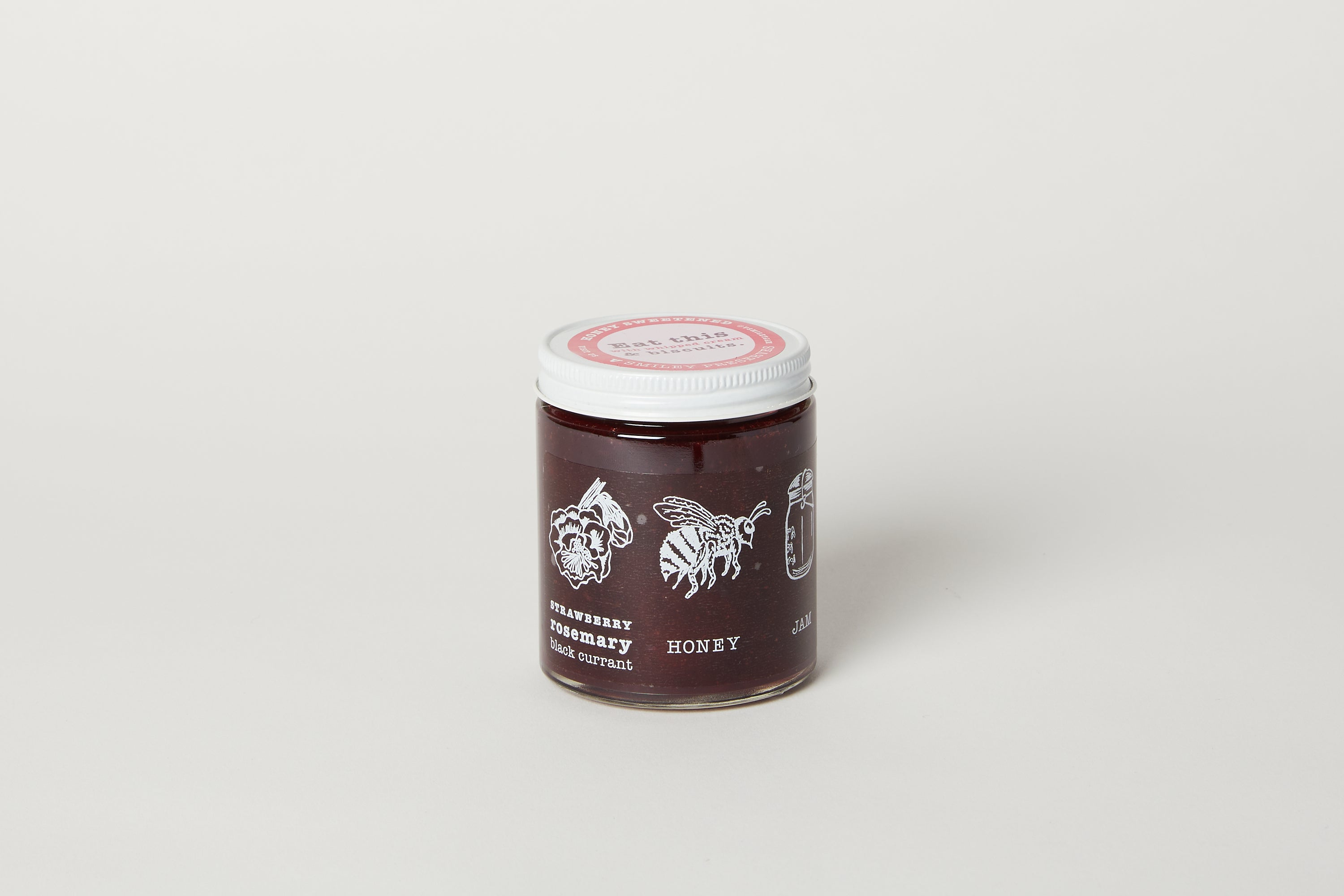 Strawberry Blackcurrant Rosemary Jam