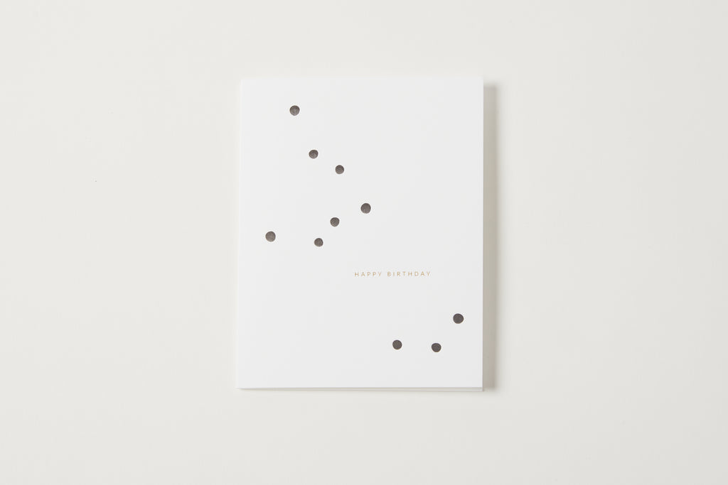 Happy Birthday Big Dots Card