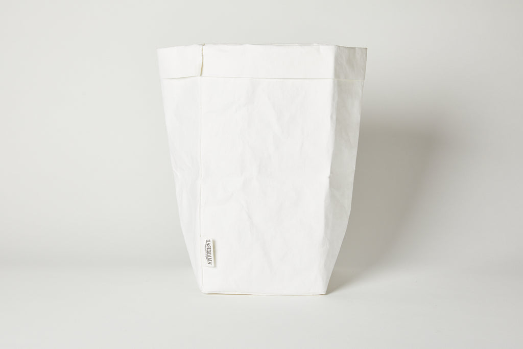 Large Plus White Paper Basket