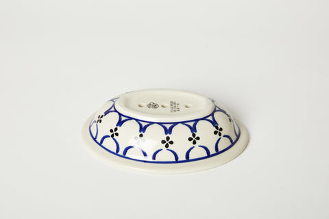 Simple Blue Soap Dish