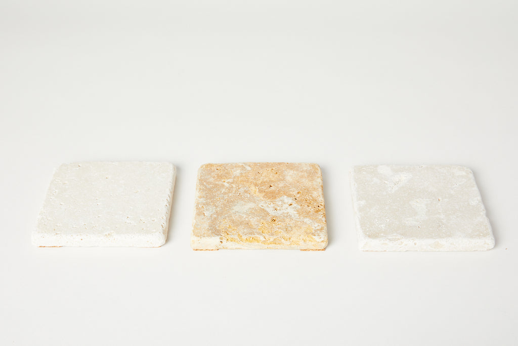 Travertine Soap Dish
