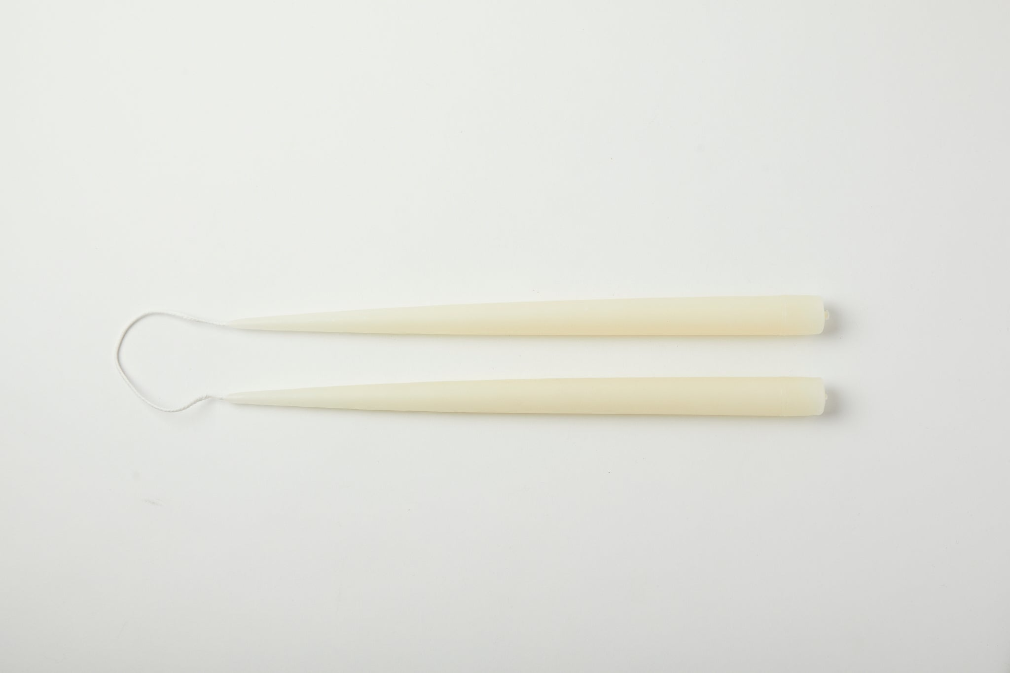"Ivory 13"" Taper Candle"