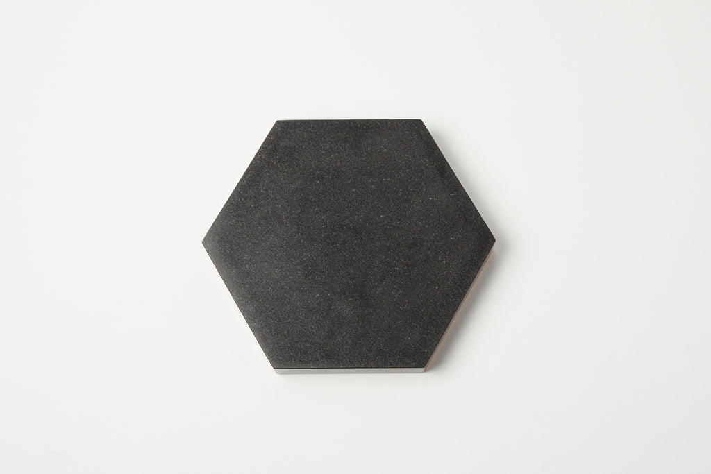 Ft. Standard Black Hexagon Trivet