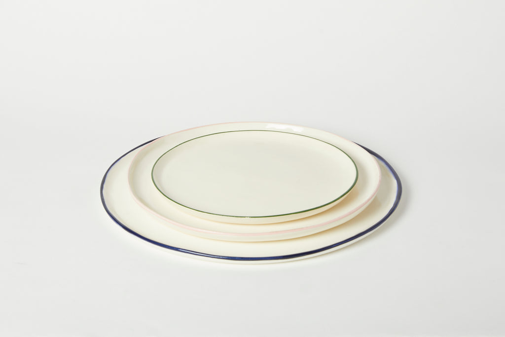 Hudson Valley Small Coup Plate Set of 4