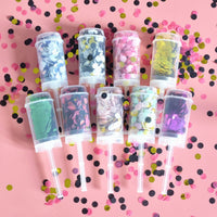 Push Pop Mixed Rose Gold Confetti Shower