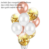 Happy Birthday Banner & Balloon Set
