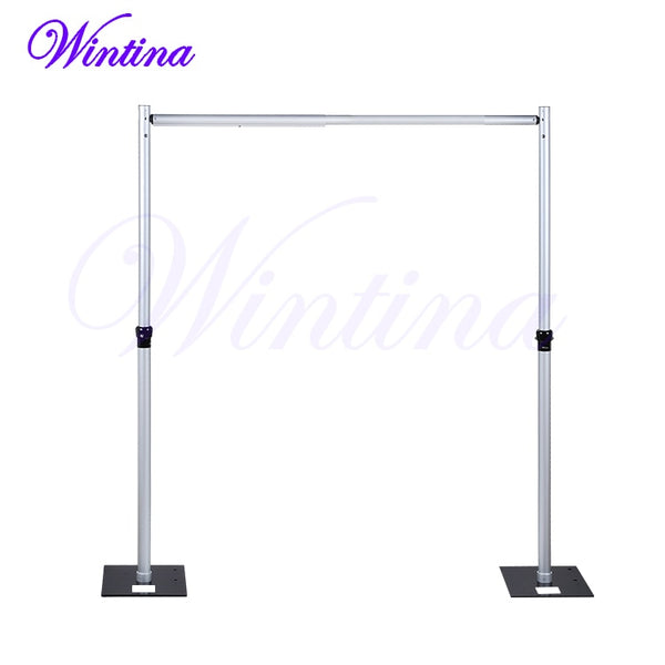 Professional Backdrop Stand - Adjustable from 6-10 Ft. Tall