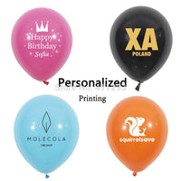 Custom & personalized print balloons