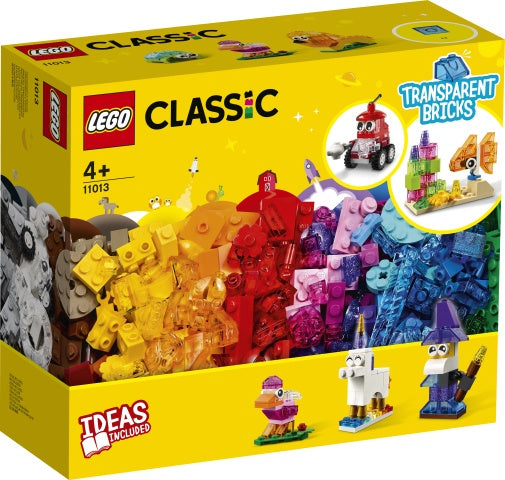 11013 LEGO Classic Creative Transparent Bricks