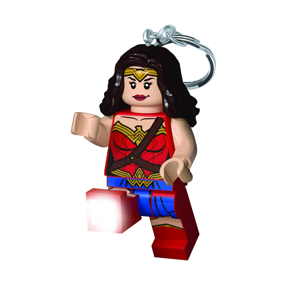 LEGO Super Heroes Wonder Woman LED Keychain