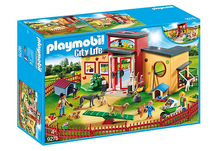 9275 Playmobil Tiny Paws Pet Hotel