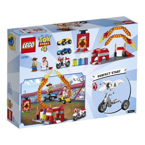 10767 LEGO Juniors Toy Story 4 Duke Caboom's Stunt Show