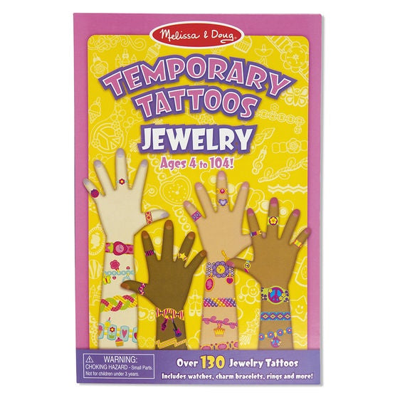 2194 Melissa & Doug Temporary Tattoos - Jewellery