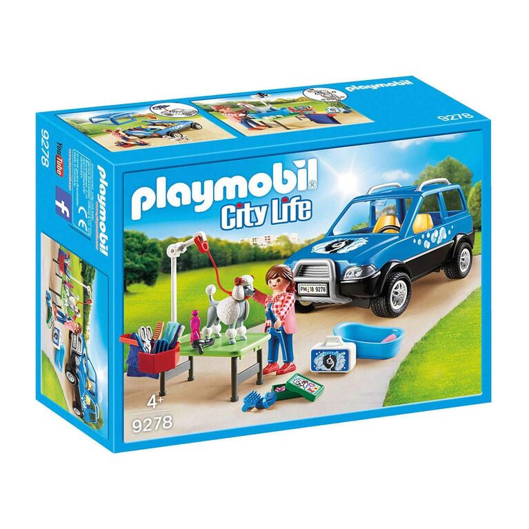 9278 Playmobil Mobile Pet Groomer