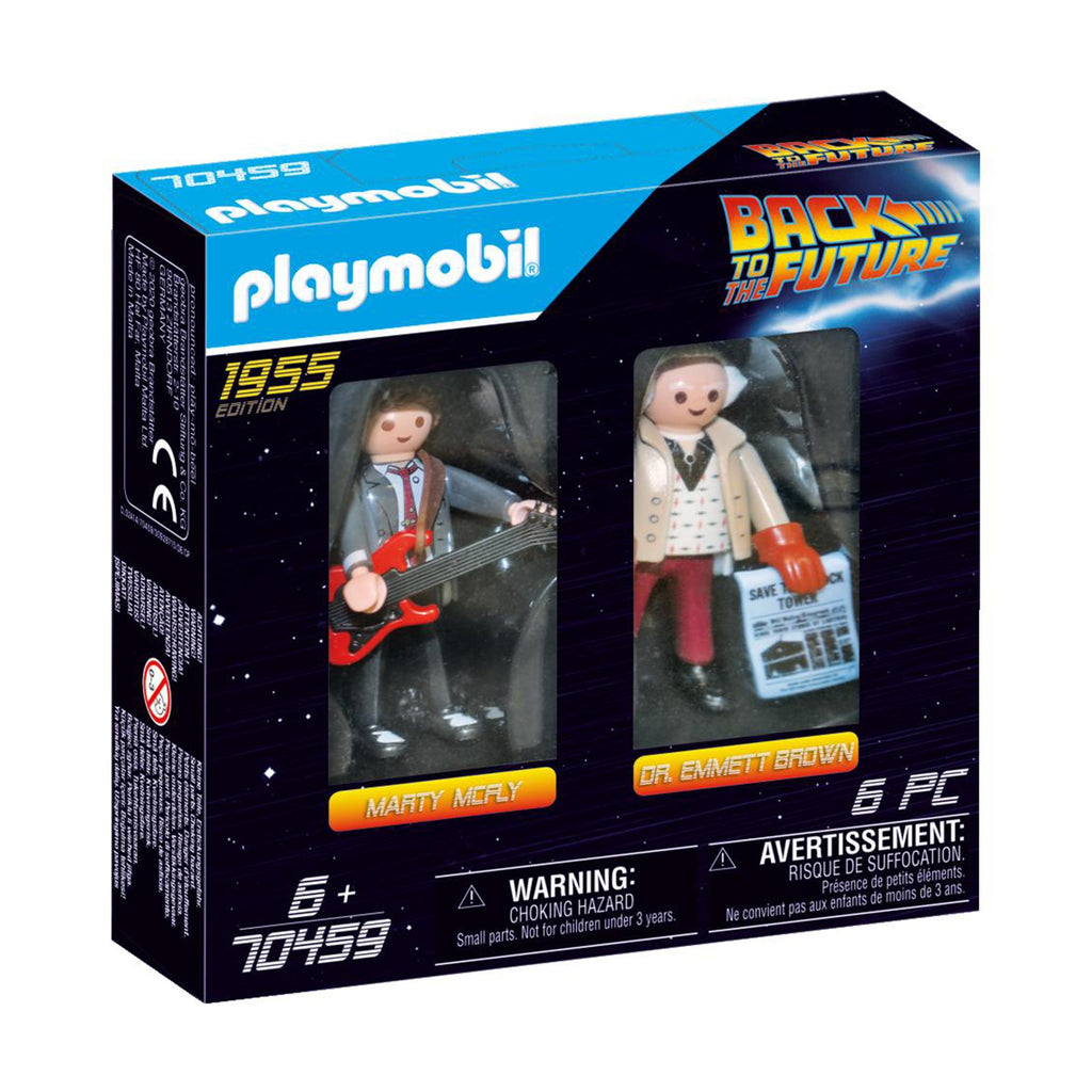 70459 Playmobil Back to the Future Marty Mcfly and Dr. Emmet Brown