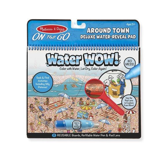 9457 Melissa & Doug Water Wow! Around Town Deluxe Water-Reveal Pad