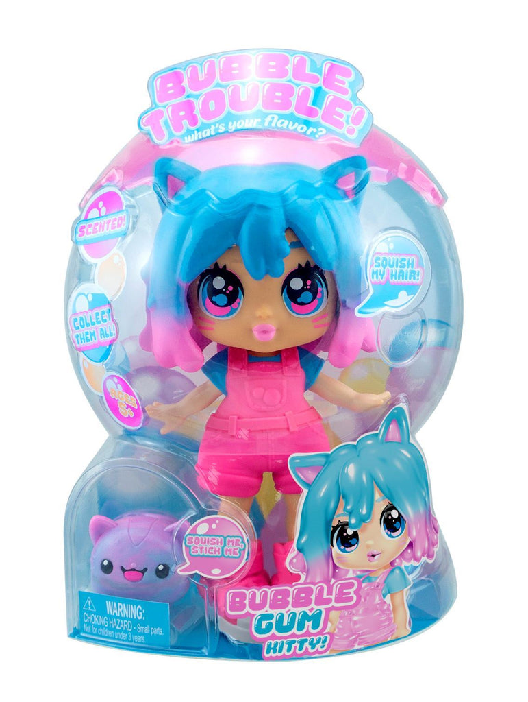 Bubble Trouble Doll - Bubblegum Kitty