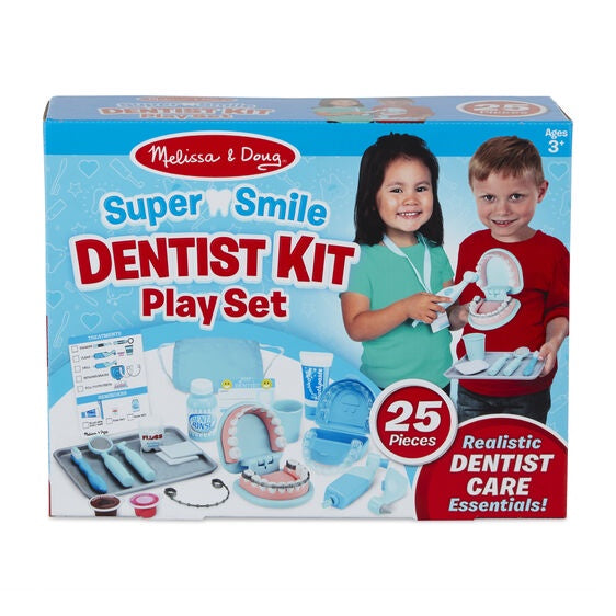 8611 Melissa & Doug Super Smile Dentist Play Set